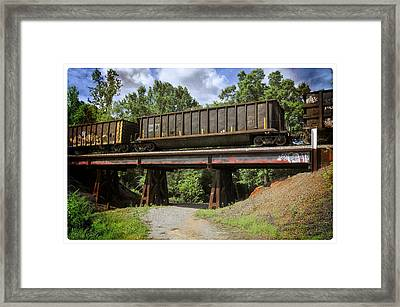 Train Trestle Framed Print