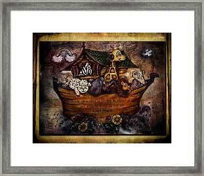 Train Up A Child Framed Print by La Rae  Roberts