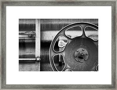 Trains 13 Framed Print by Niels Nielsen