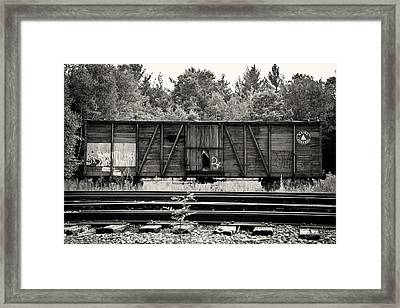 Trains Framed Print by David Fox Photographer
