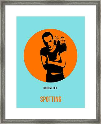 Trainspotting Poster 1 Framed Print by Naxart Studio