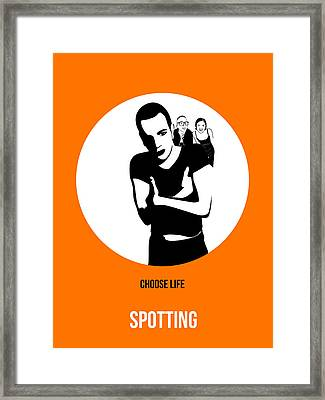 Trainspotting Poster 2 Framed Print by Naxart Studio