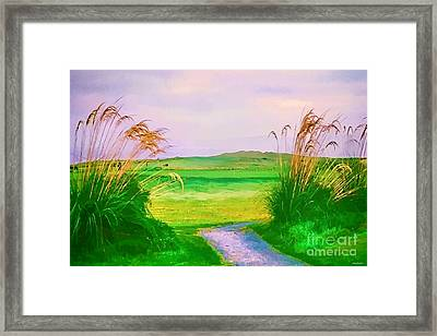 Tralee Ireland Water Color Effect Framed Print by Tom Prendergast