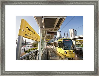 Tram Framed Print by Ashley Cooper