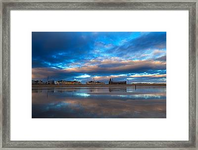 Tramore Beach At Sunset, County Framed Print by Panoramic Images