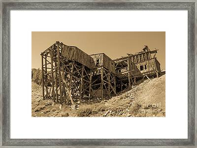 Tramway Headhouse Framed Print by Robert Bales