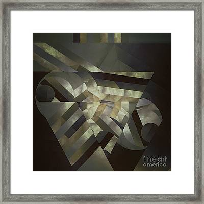 Trancedental Space Framed Print by Lonnie Christopher
