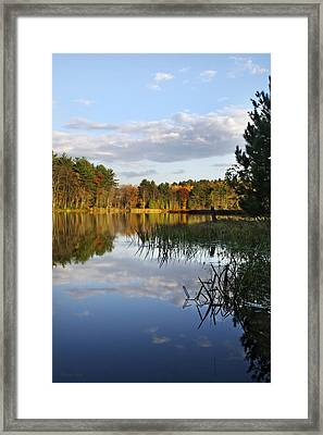 Tranquil Autumn Landscape Framed Print by Christina Rollo