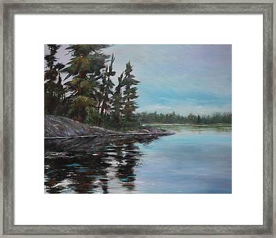 Tranquil Bay Framed Print