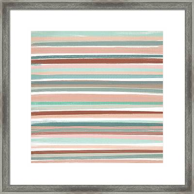 Tranquil Colors Framed Print