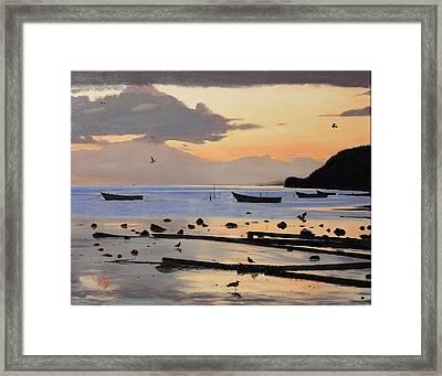 Tranquil Dawn Framed Print