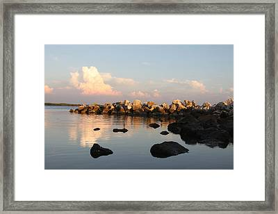 Tranquil Inlet Framed Print