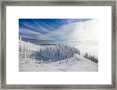 Tranquil Island Framed Print by Aaron Aldrich