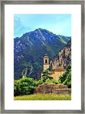 Tranquil Landscape Framed Print by Mariola Bitner