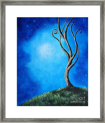 Tranquil Moments By Shawna Erback Framed Print by Shawna Erback