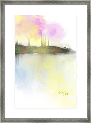 Tranquil Moments Framed Print by Jessica Wright