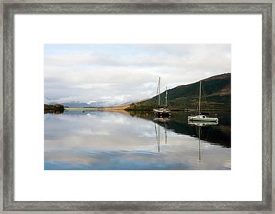 Tranquil Scottish Scene Framed Print by Jacqi Elmslie