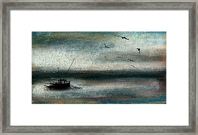 Tranquil Sea Framed Print by R Kyllo