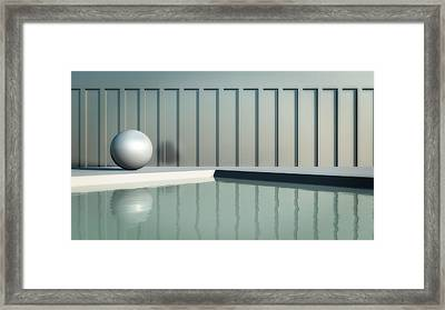 Tranquil Seclusion Framed Print
