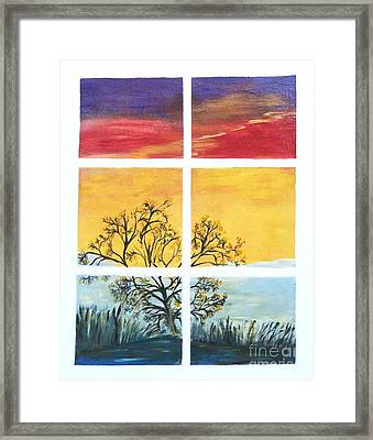 Tranquil View Framed Print
