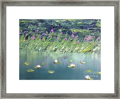 Tranquilies Framed Print