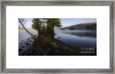 Tranquility - A Vermont Scenic Framed Print by Thomas Schoeller