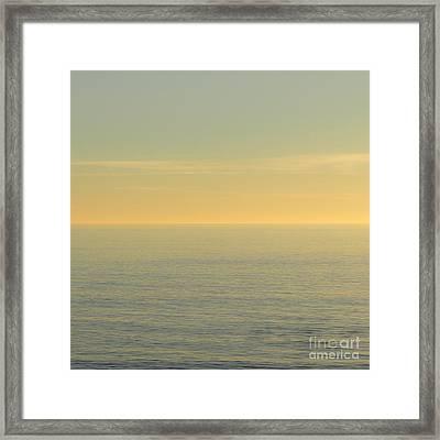 Tranquility Framed Print by Ana V Ramirez