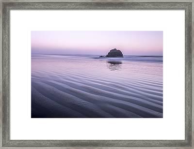Tranquil And Still Framed Print