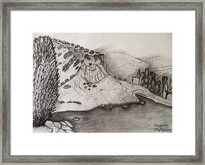Tranquility Framed Print by Augusta Stylianou