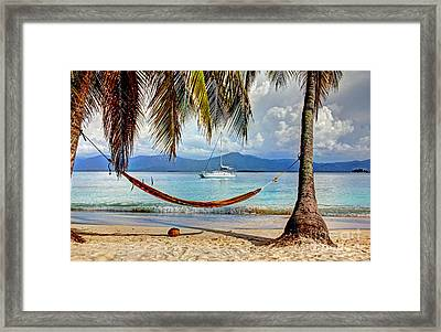 Tranquility Base Framed Print by Bob Hislop
