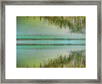 Tranquility Bay Framed Print by Wendy J St Christopher