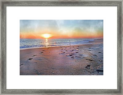 Tranquility Beach Framed Print