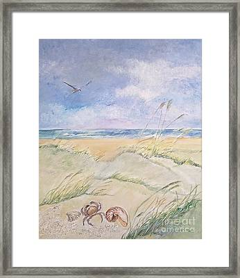 Tranquility Framed Print by Delona Seserman