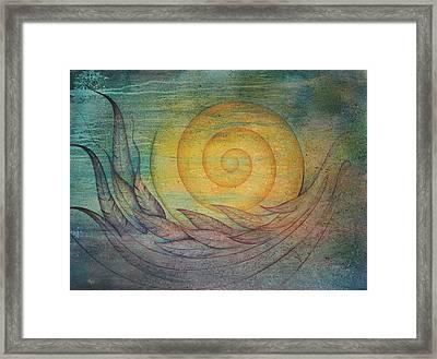 Tranquility Framed Print by Ellen Starr