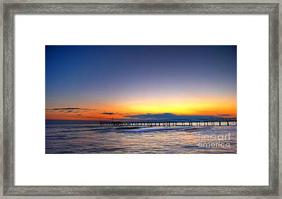 Framed Print featuring the photograph Tranquility by Erhan OZBIYIK