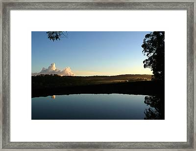 Framed Print featuring the photograph Tranquility by Evelyn Tambour