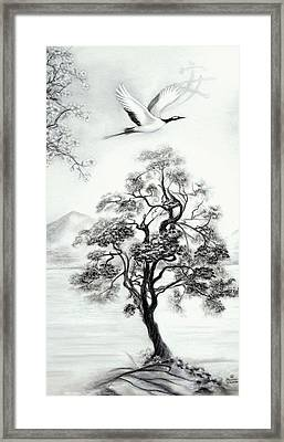 Tranquility II Framed Print by Melodye Whitaker