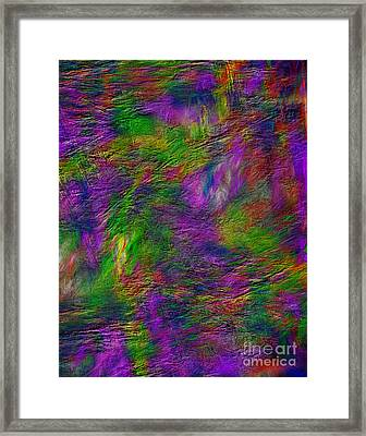 Tranquility In Oil Framed Print
