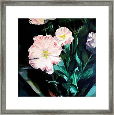 Tranquility In The Garden Framed Print