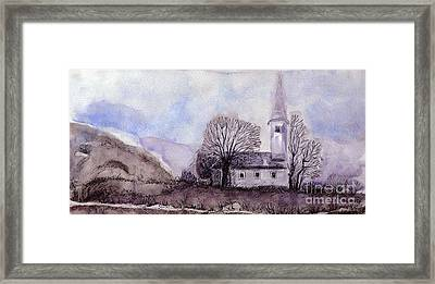 Tranquility Framed Print by Jasna Dragun