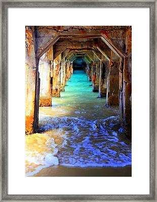 Tranquility Framed Print by Karen Wiles