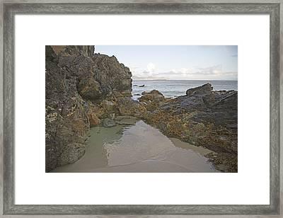 Tranquility Keem Beach Ireland Framed Print by Betsy Knapp