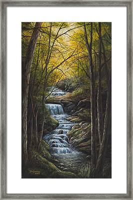 Tranquility Framed Print by Kim Lockman