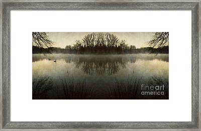 Tranquility Lake Framed Print by Doug Sturgess
