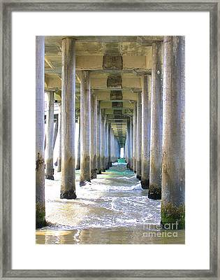 Framed Print featuring the photograph Tranquility 1 by Margie Amberge
