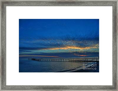 Sky Paint Framed Print