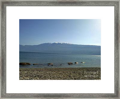 Framed Print featuring the photograph Tranquility by Ramona Matei