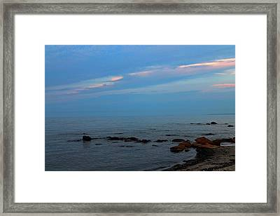 Tranquility Framed Print by Rhonda Humphreys