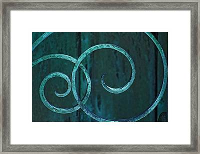 Framed Print featuring the photograph Tranquility  by Rowana Ray