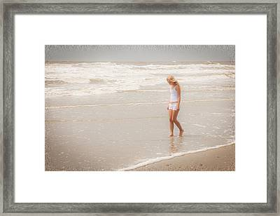 Framed Print featuring the photograph Tranquility by Sennie Pierson